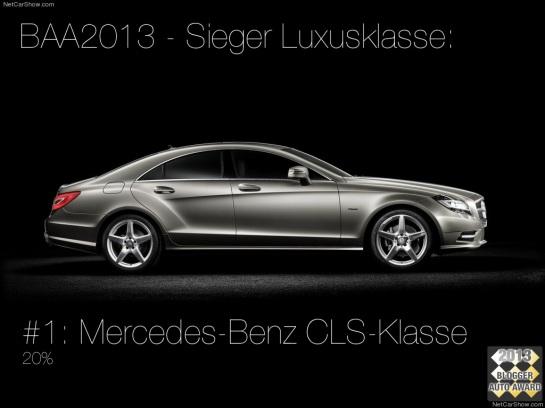 asphaltfrage.de | BAA 2013 | Blogger Auto Award 2013 | Mercedes-Benz-CLS